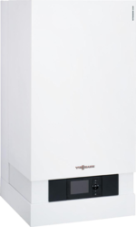A gas condensing boiler can be more efficient
